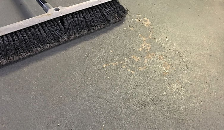 How to clean a concrete basement floor