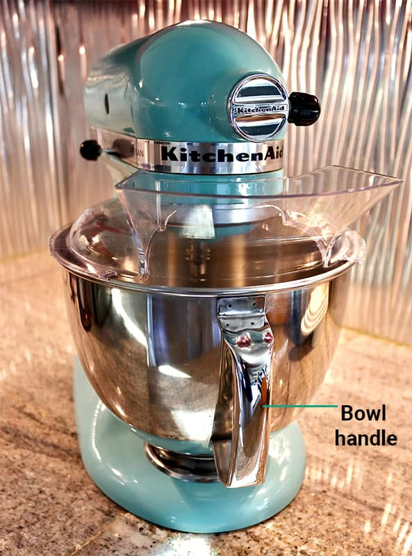 KitchenAid Artisan bowl with handle