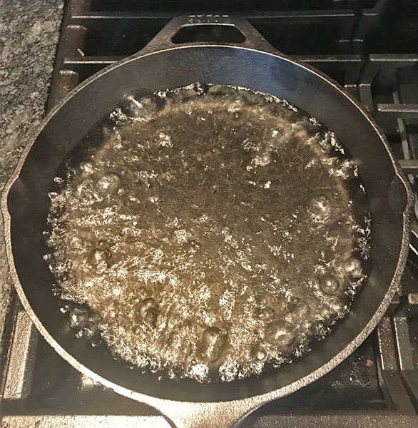 Lodge cast iron skillet even heating