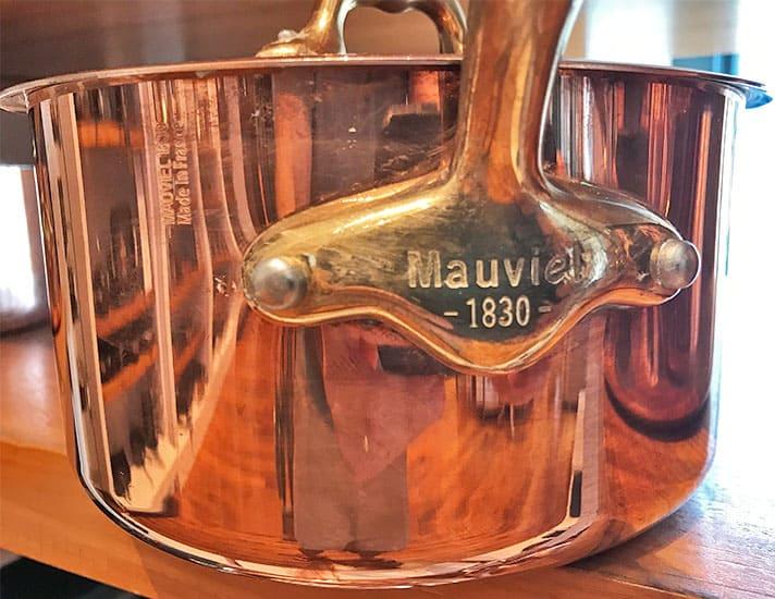 Mauviel Copper Saucepan