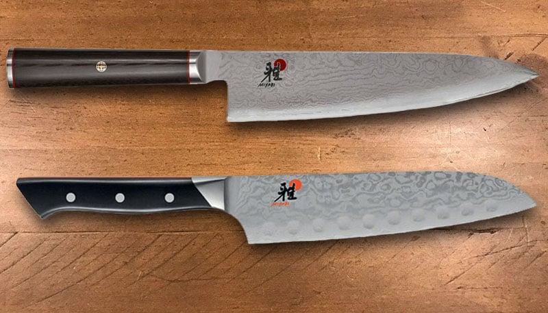 Miyabi Kaizen versus Fusion kitchen knives
