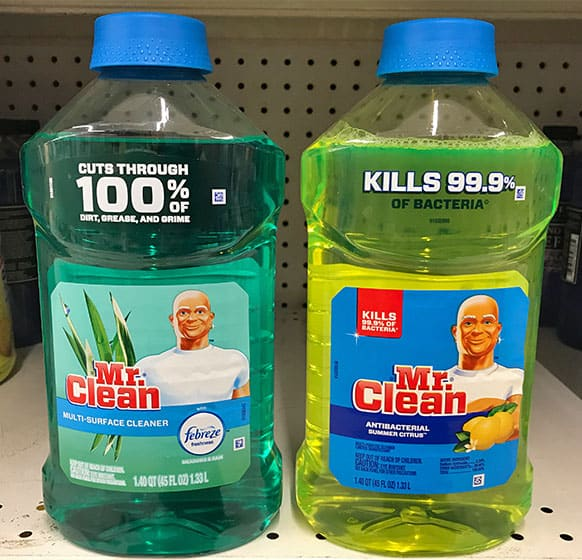 Mr. Clean Multi-Surface and Antibacterial Cleaners