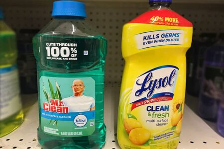 Mr. Clean vs. Lysol: Which Cleaners Are Better?