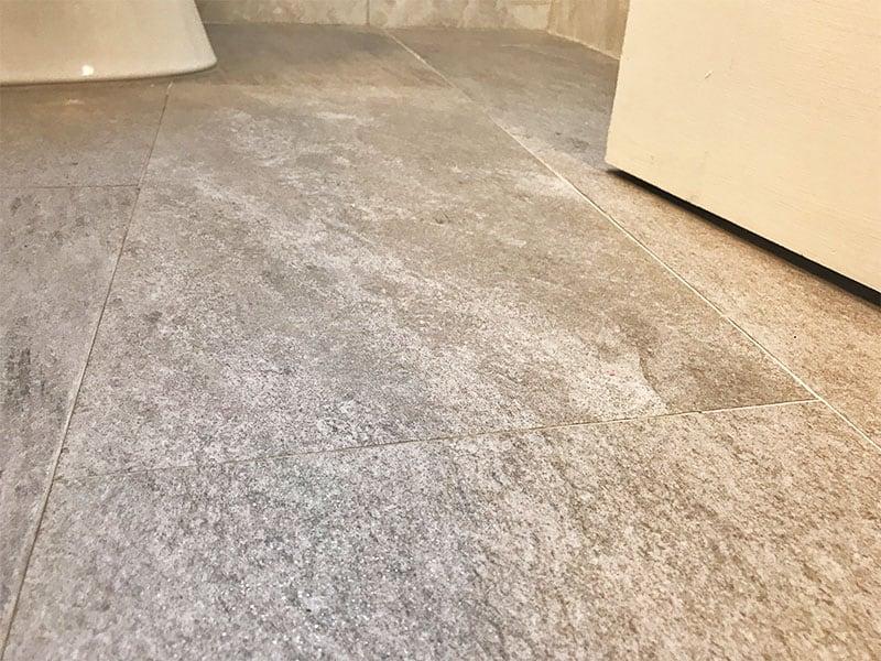 Naturally non-slip stone tile