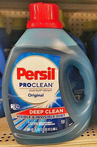Persil laundry detergent bottle