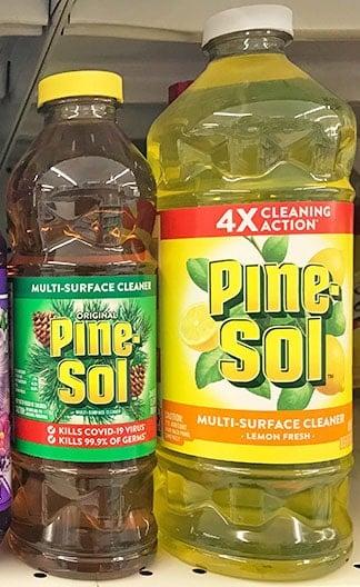 Pine-Sol Original and Lemon Fresh