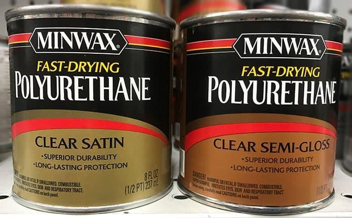 Satin versus Semi Gloss Polyurethane
