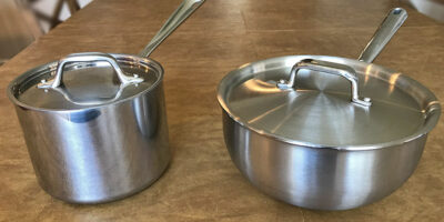 Saucepan vs. Saucier: What's the Difference?