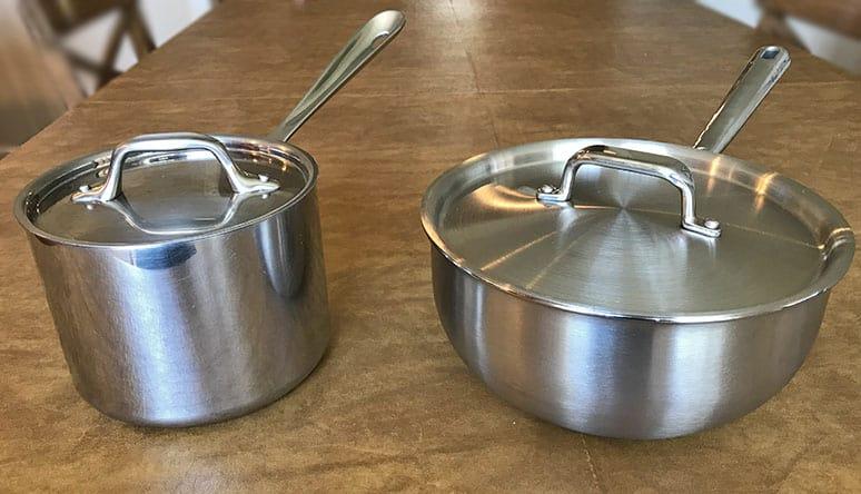 Saucepan versus saucier