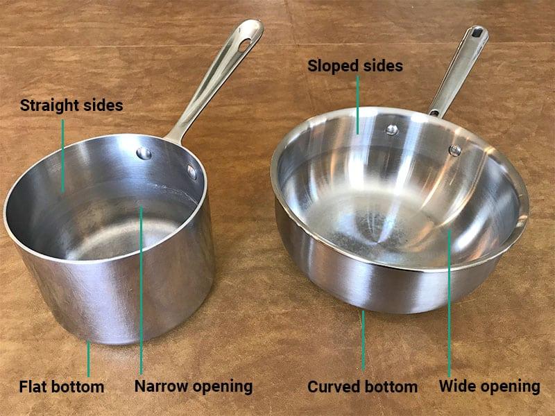 Saucepan versus saucier_shape