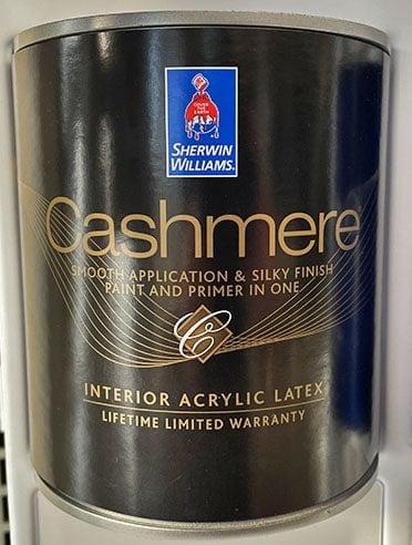 Sherwin-Williams Cashmere Interior
