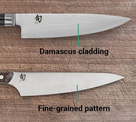 Shun Classic versus Kanso Blade Design