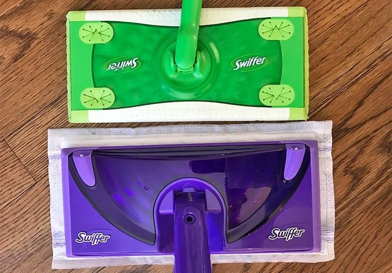Swiffer Sweeper versus WetJet