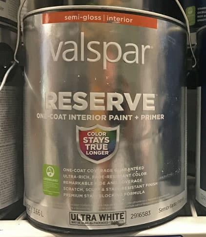 Valspar Reserve Paint