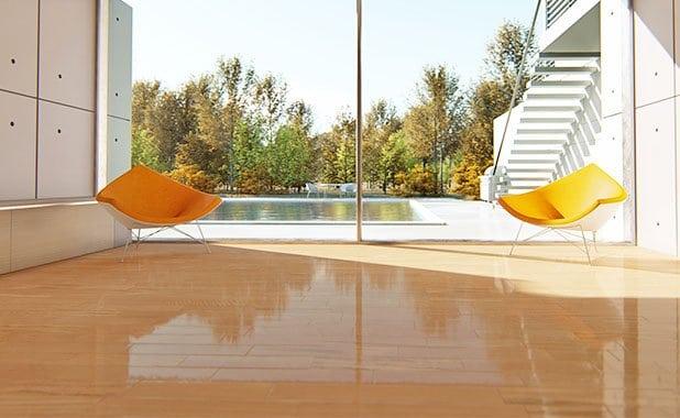 Wood floors with semi gloss polyurethane_2