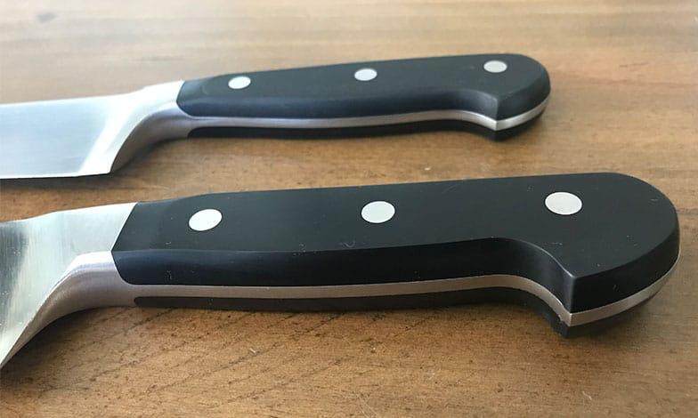 Wusthof versus Zwilling knife handles