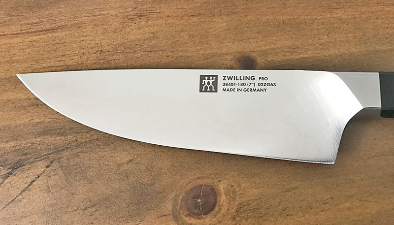 Zwilling knife blade
