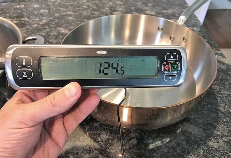 copper versus stainless steel cookware_responsiveness test results_copper