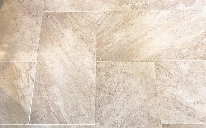 how to make tile floor less slippery