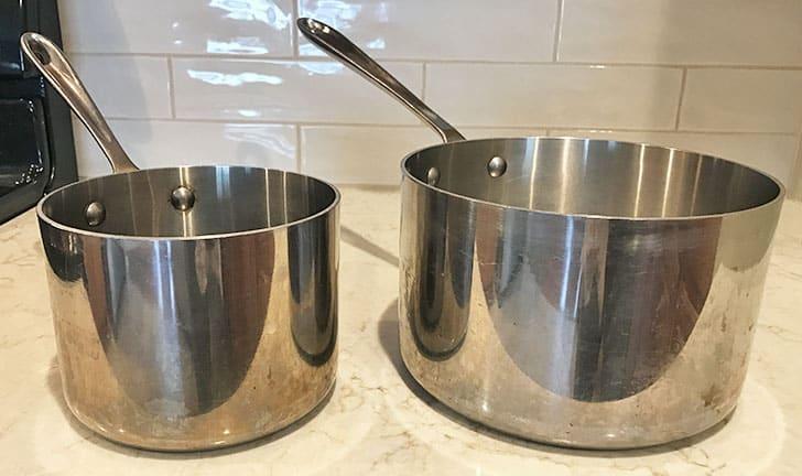 what size saucepan should you buy